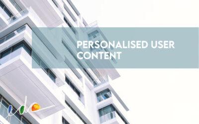Utiliser l'authentification pour créer un contenu utilisateur personnalisé