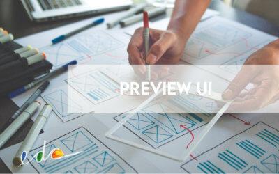 Utiliser l'aperçu de l'aide de l'interface utilisateur avant de publier