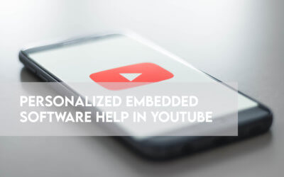 Let's get personal: How we imagined personalized embedded software help in YouTube