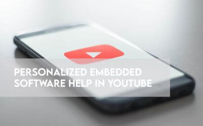 Comment nous avons imaginé une aide logicielle intégrée personnalisée dans YouTube