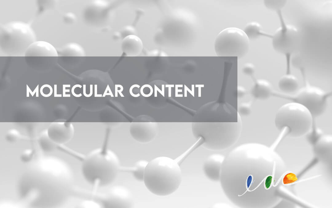 Molecular Content: Reusing Information Particles