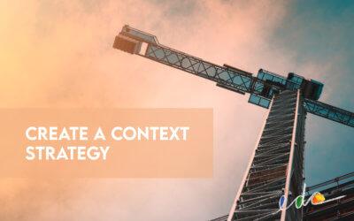 Create a Context Strategy